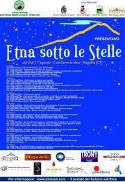 Locandina Etna sotto le stelle 2008
