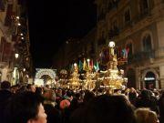 Candelora in processione