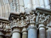 Castello Nelson. Chiesa di S. Maria di Maniace, portale