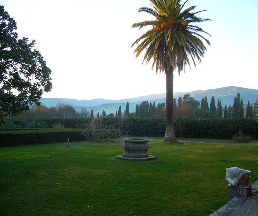 Castello dell'ammiraglio Nelson, giardino