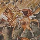 Particolare mosaici Villa romana del Tellaro