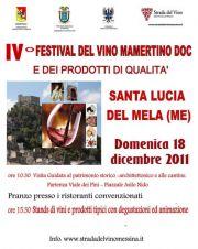 Sagra del Vino Mamertino Doc