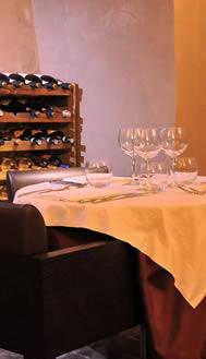 Interno del ristorante Meliora - Noto