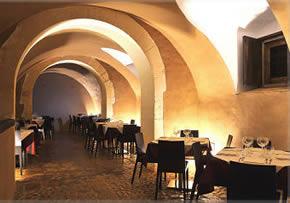Interno del ristorante Meliora, Noto (SR)