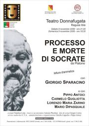 Processo e morte di Socrate - Ragusa