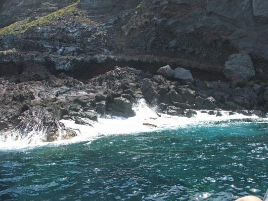 Isole Eolie - Scogliera a Salina