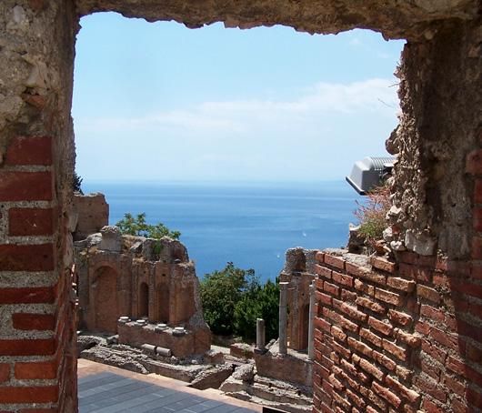 Taormina, l'antico teatro