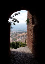 Taormina, l'antico teatro, scorcio